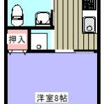 鴨川市横渚貸アパート【ビーチシェル】間取