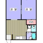 鴨川市 ペット可の貸アパート【クリークハウス】2A間取