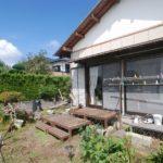 【価格変更】南房総市和田町海発 日当たりの良い庭付き平屋