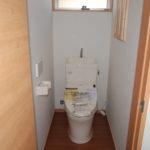 トイレにももちろん収納スペース