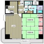 【東急リゾートマンション南房総江見1112号室】間取