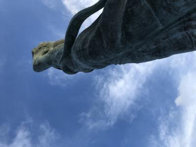 鴨川の海山や町並みを一望できる名所 ー 魚見塚展望台