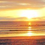 前原海岸の日の出(周辺)