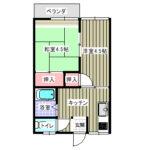 【カスヤハイツ101号室】間取